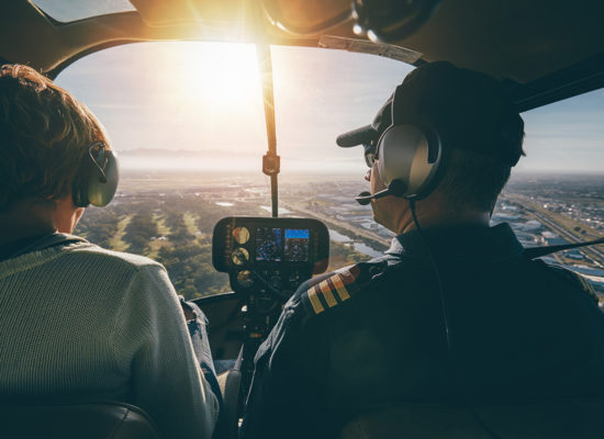Helicoptervisie Vlaamse Confederatie Bouw
